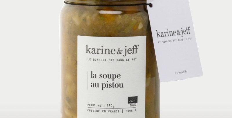 La soupe au pistou   - Karine & Jeff  - 680Gr