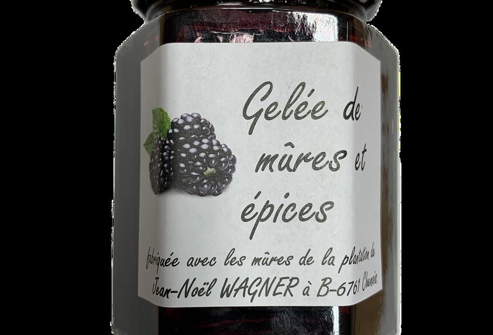 Gelée de Groseilles et Menthe - Jean-Noël Wagner - 190Gr