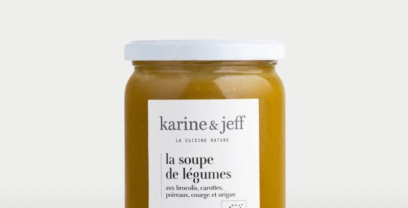 La soupe de légumes  - Karine & Jeff  - 500ml