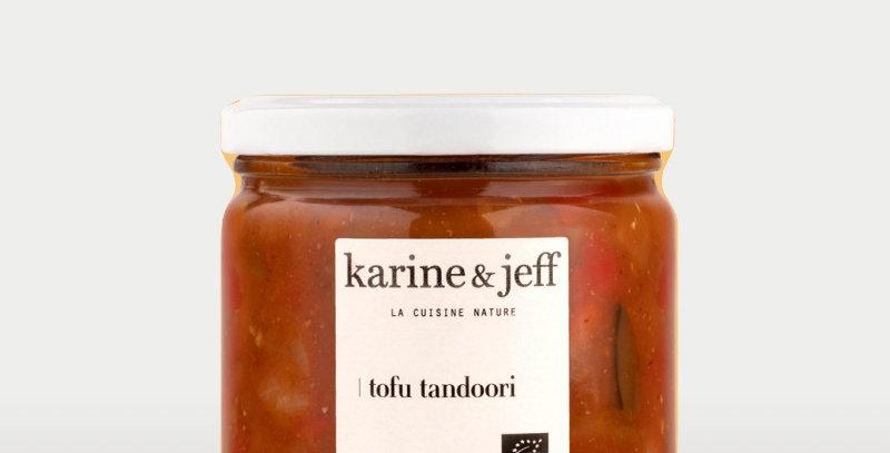 Tofu tandoori - Karine & Jeff  - 320Gr