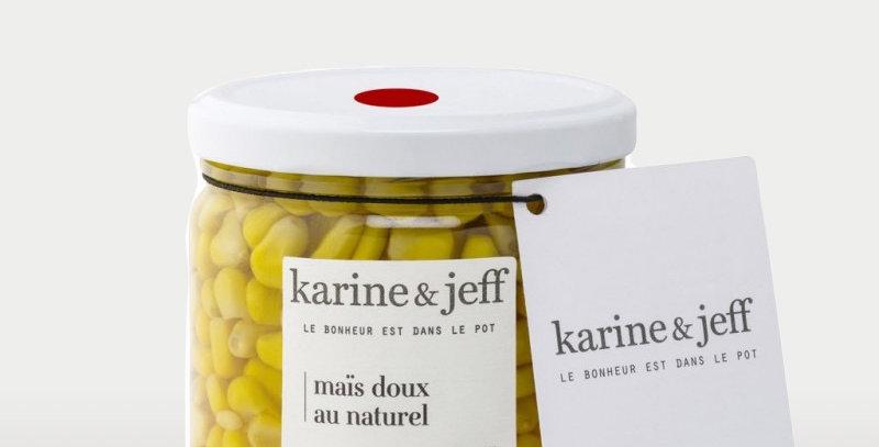 Maïs doux au naturel - Karine & Jeff  - 360Gr