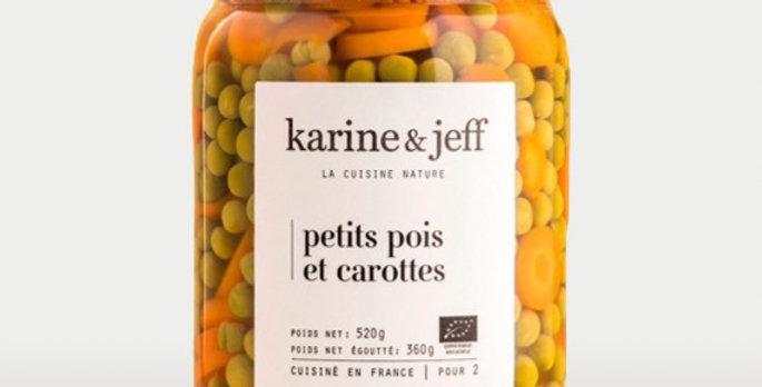 Petits pois et carottes - Karine & Jeff  - 520Gr