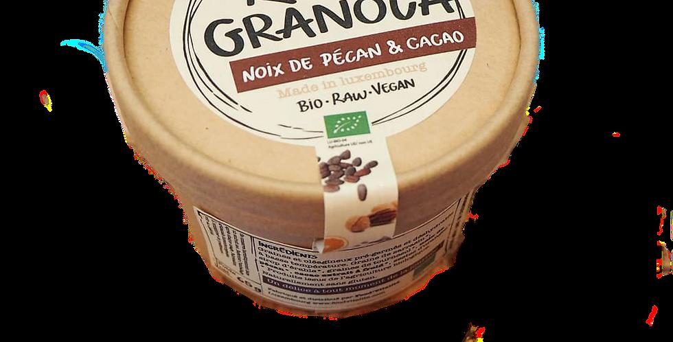 Raw Granola - « Noix de Pécan et cacao extrait à froid » - 250 g