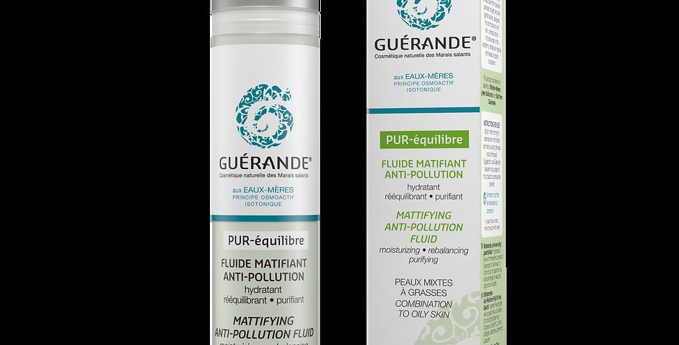 Pur-Équilibre Fluide Matifiant Anti-pollution - Guerande - 50ml