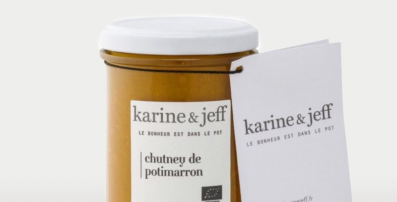 Chutney de potimarron - Karine & Jeff - 220Gr
