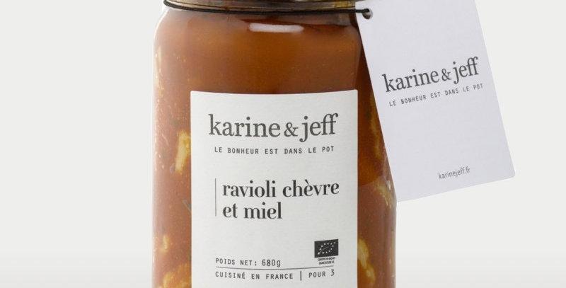 Ravioli chèvre et miel - Karine & Jeff  - 680Gr