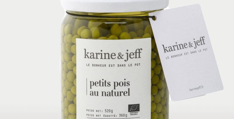 Petits pois au naturel - Karine & Jeff  - 520Gr