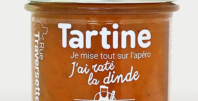 Tartine - J'ai raté la dinde - 110 gr