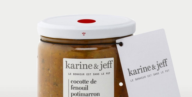 Cocotte de fenouil, potimarron et figues - Karine & Jeff  - 350Gr