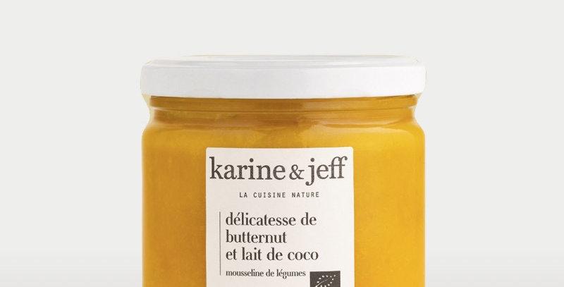 Délicatesse de butternut et lait de coco - Karine & Jeff  - 320Gr