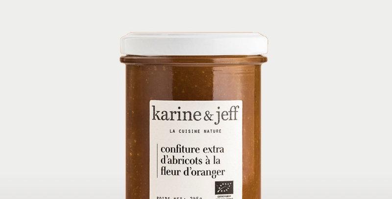 Confiture Abricots à la fleur d'oranger - Karine & Jeff  - 245Gr