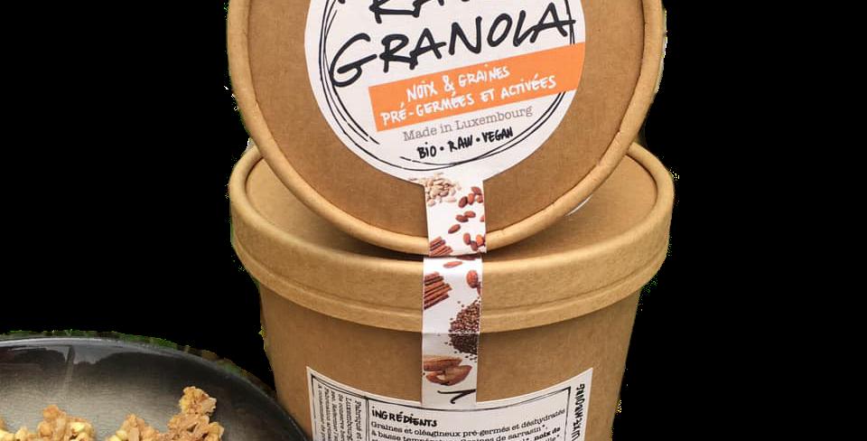 Raw Granola - « Noix de Brésil et cannelle » - 250 g