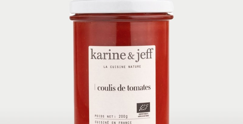 Coulis de tomates - Karine & Jeff  - 200Gr