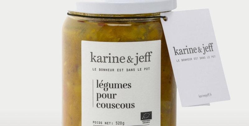 Légumes pour couscous - Karine & Jeff  - 520Gr