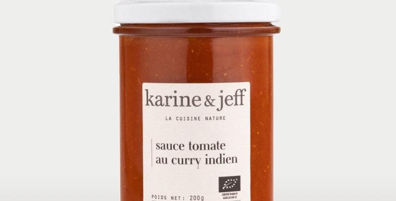 Sauce tomate au curry Indien - Karine & Jeff  - 200Gr
