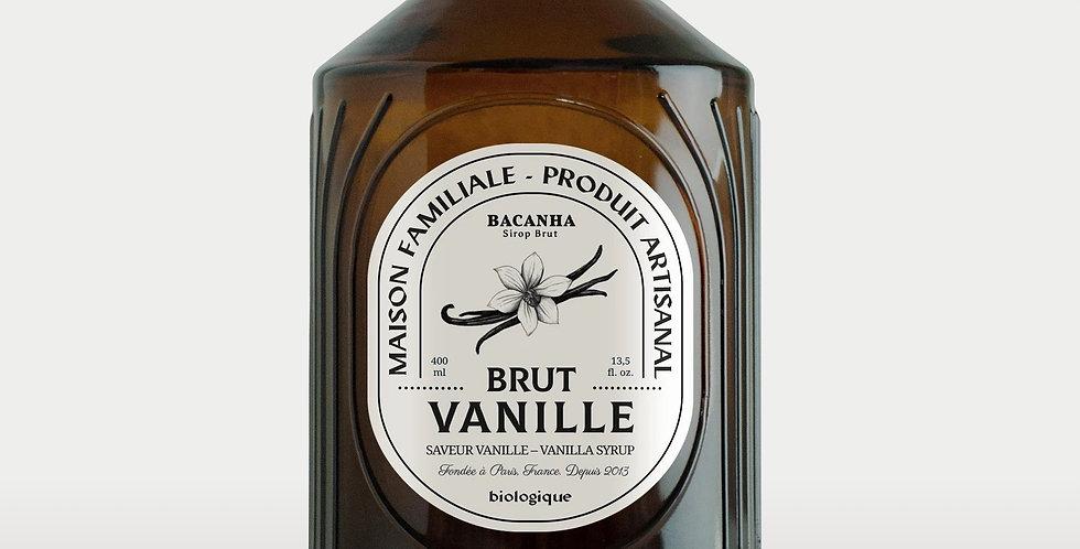 Sirop de Vanille Brut - Bio - 400 ml - Bacanha