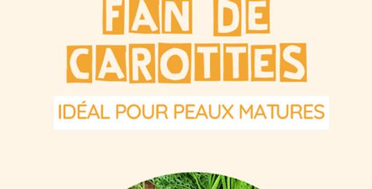 Savon « Fan de carottes » pour votre teint (exfoliant) - L'Arbre a Savon - 100Gr