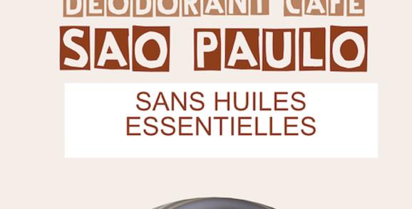 Déodorant solide SAO PAULO (recharge) - L'Arbre a Savon - 70Gr