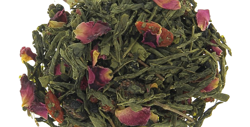 Thé vert parfumé  - ACAI & GOJI - Teatower