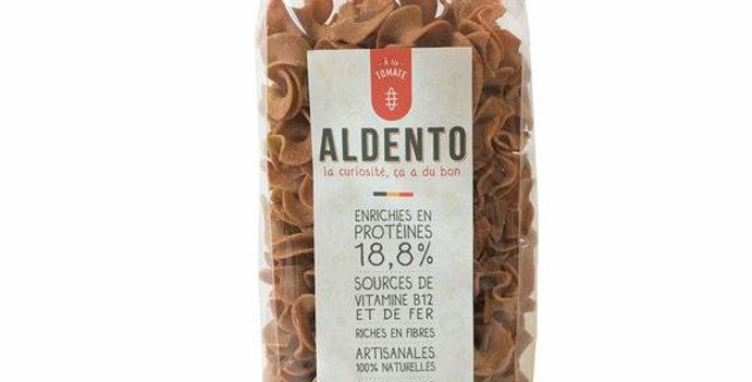 Pâtes ALDENTO insectes à la Tomate Mafaldine - 200Gr
