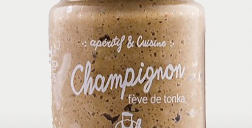Champignon - à la fève de tonka  - 90 gr