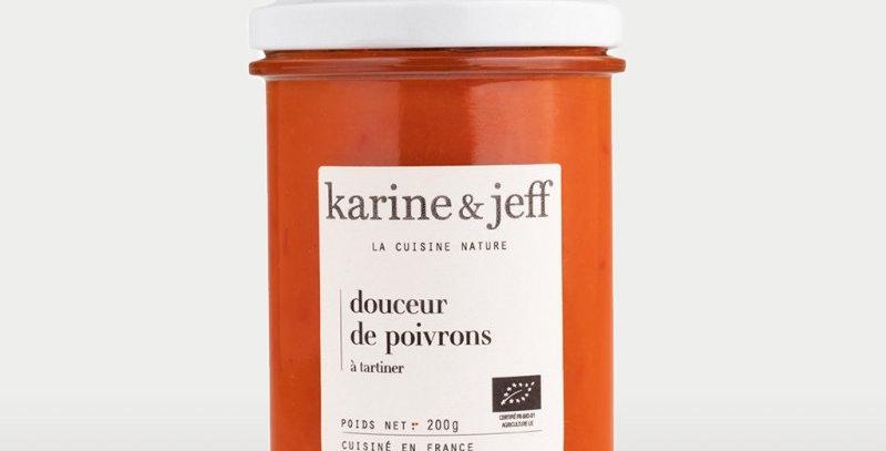 Douceur de poivrons - Karine & Jeff  - 200Gr
