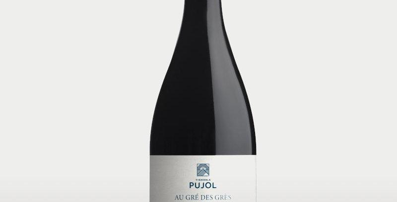 """Minervois Rouge """" Au Gré des Grès """" 2019 Domaine Pujol"""
