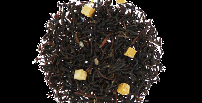 Thé noir parfumé  - CARAMEL BEURRE SALÉ - Teatower