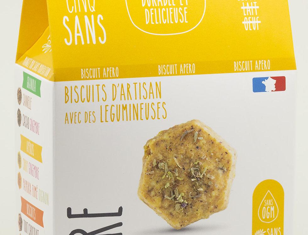 Biscuit Apéro Olive Poivre - Cinq Sans - 100Gr