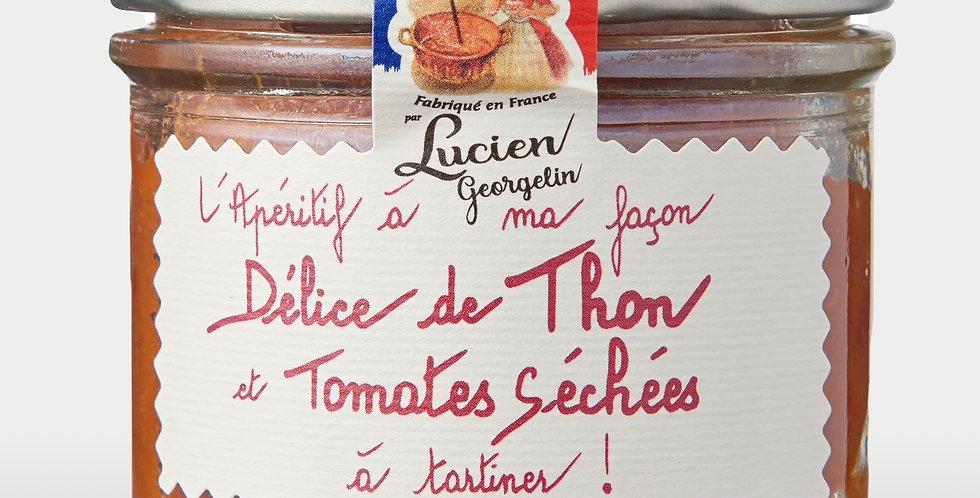 Délice de Thon et Tomates séchées - 100g