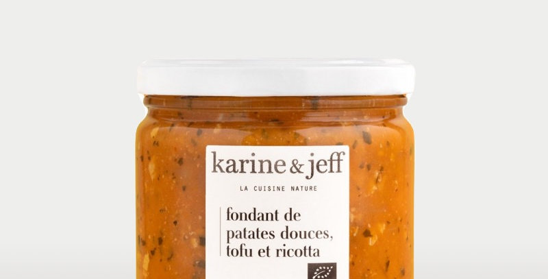 Fondant de patates douces tofu et ricotta - Karine & Jeff  - 360Gr