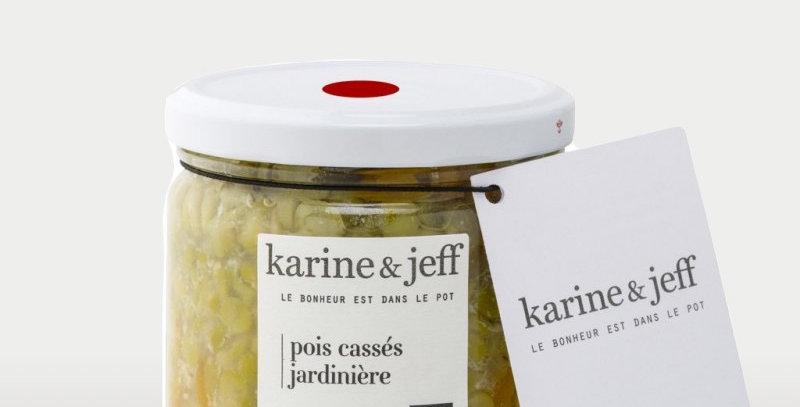 Pois cassés jardinière - Karine & Jeff  - 360Gr