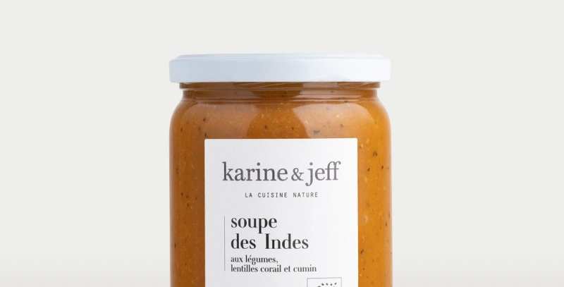 Soupe des Indes  - Karine & Jeff  - 500ml