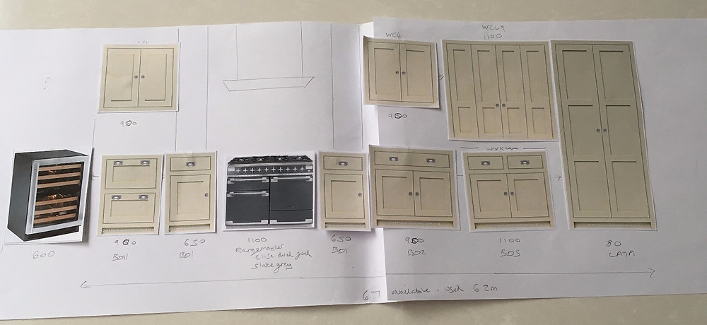 Designing a contemporary shaker kitchen