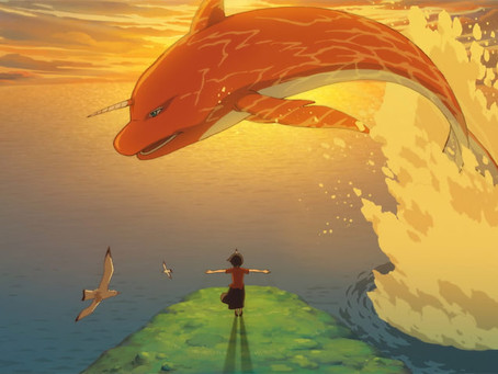 "Takumi Furusato commented on the media about a Chinese anime"" Big Fish & Begonia"""