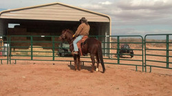 Cutter and me on our first ride together.jpg