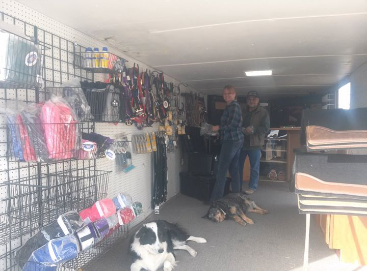 Here is our new mobile tack store!