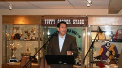 Facebook - Lt. Governor of New Mexico, John Sanchez, reading the presentation of
