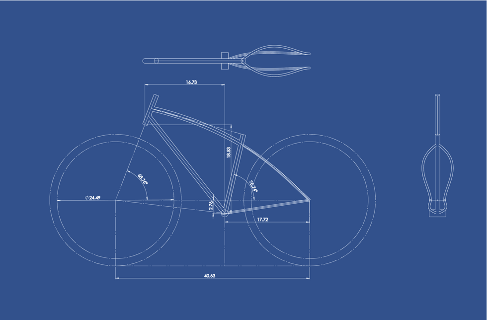 Bike sketch