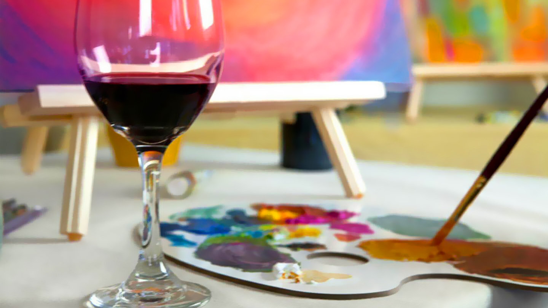 Pinot & Paint Day