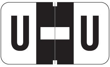 Alpha Labels U (JT3R) Black