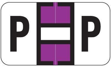 Alpha Labels P (JT3R) Purple