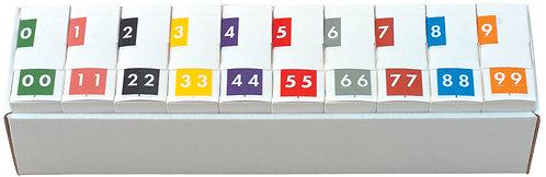 Numeric Set 0-9  AVNM-NT