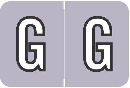 Alpha Letter G       Lavender (BRPK-G)