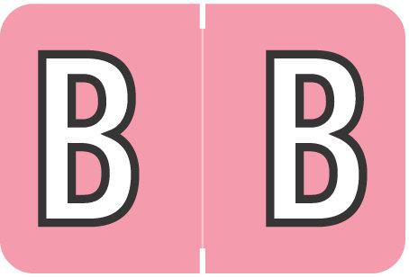 Alpha Letter B  Pink (BRPK-B)