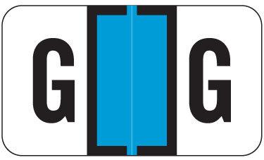 Alpha Labels G (JT3R) Blue
