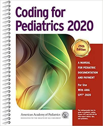 2020 Coding for Pediatrics  (OP590420)