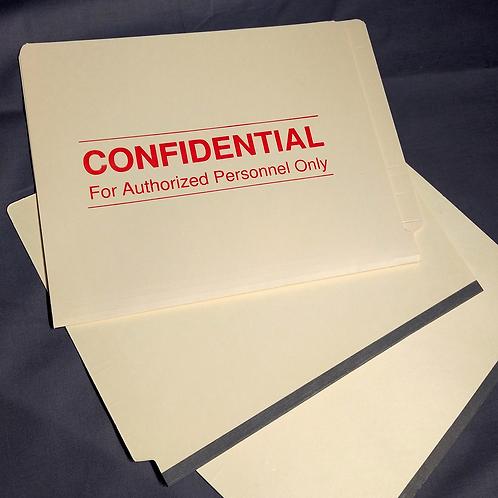 File Folders 1590CF1&3 (case of 250)