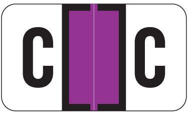 Alpha Labels C (JT3R) Purple