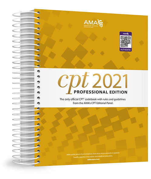 2021 CPT Professional Edition  (EP054121)